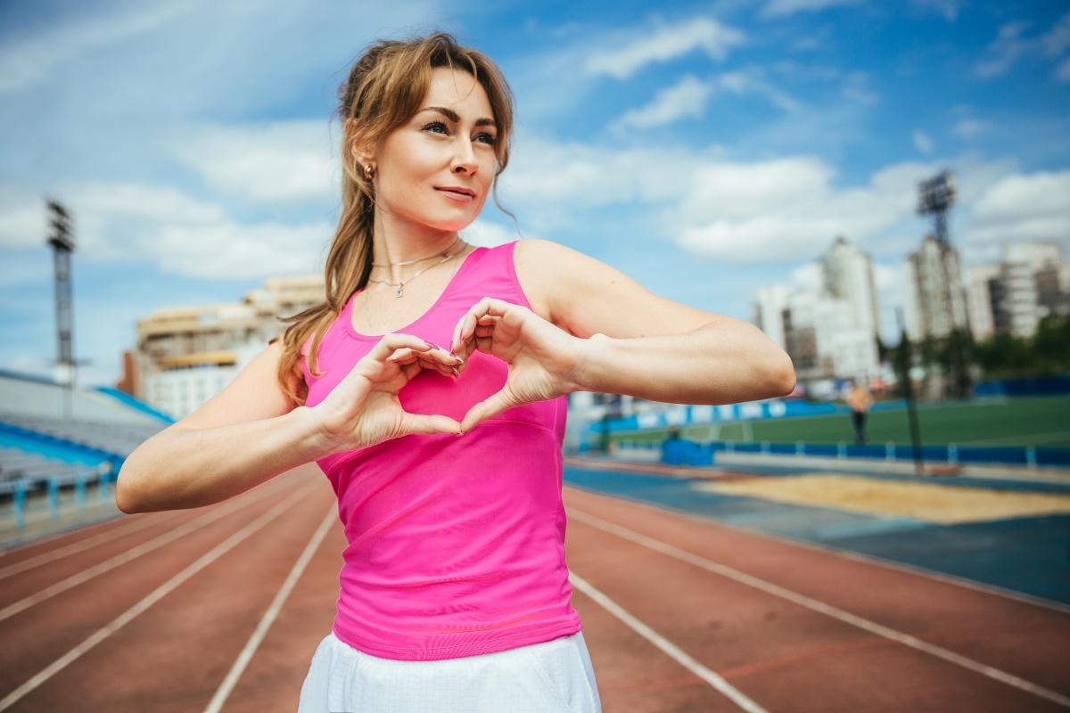 Анастасия начала заниматься спортом в 34 года и не может остановиться