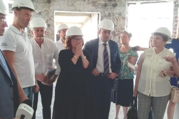 Зельфире Трегуловой показали Фабрику-кухню