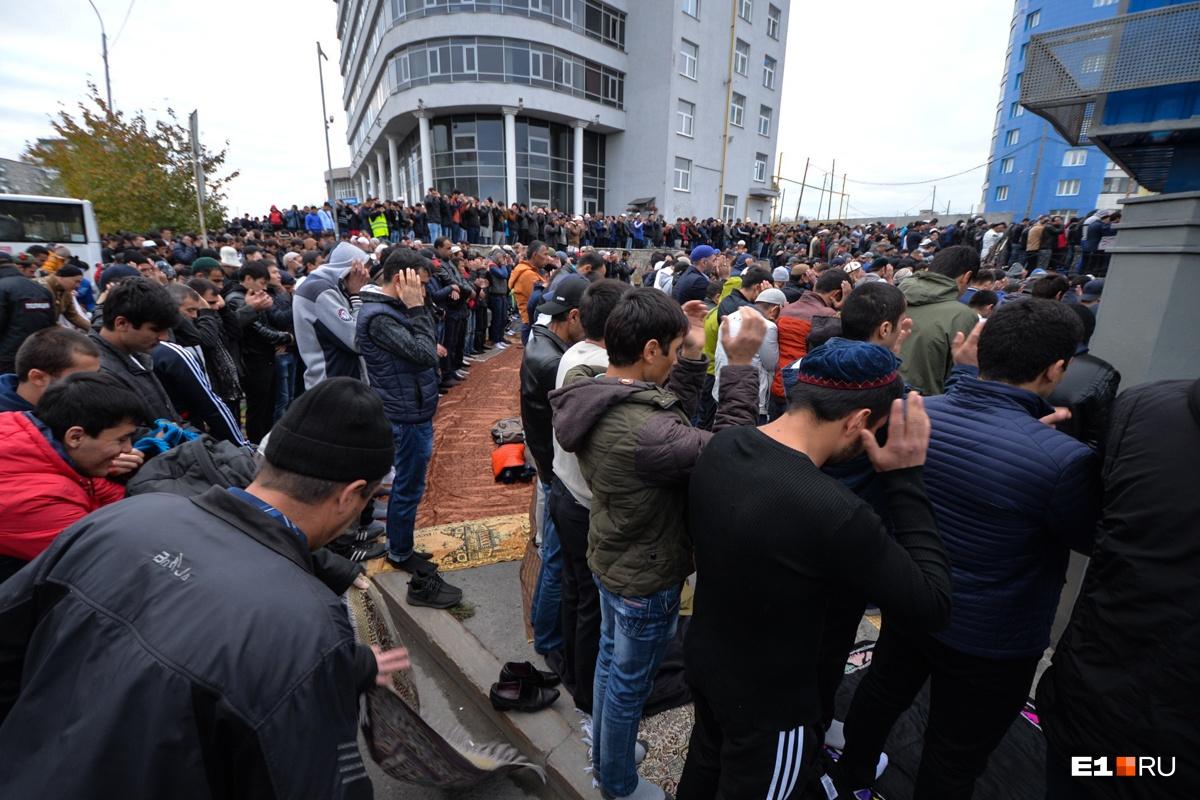 В Екатеринбурге сейчас живут около 400 тысяч мусульман
