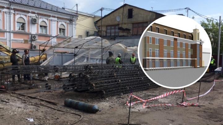 «Уничтожение исторической среды»: как будет выглядеть кинотеатр в Депутатском переулке