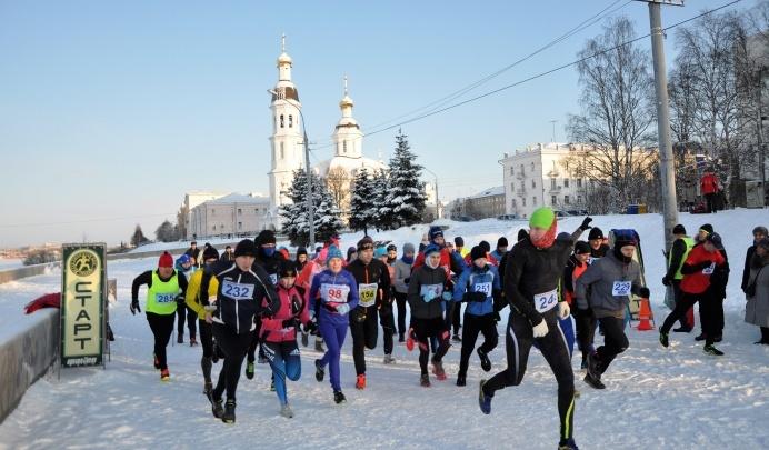 В Архангельске пройдет массовый рождественский забег по набережной