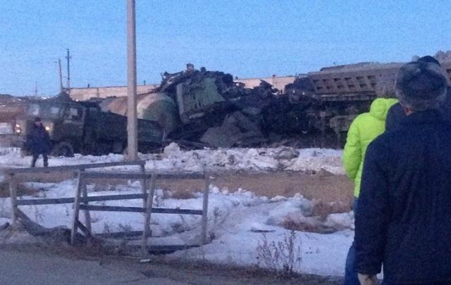 В Башкирии столкнулись два грузовых поезда: есть погибшие