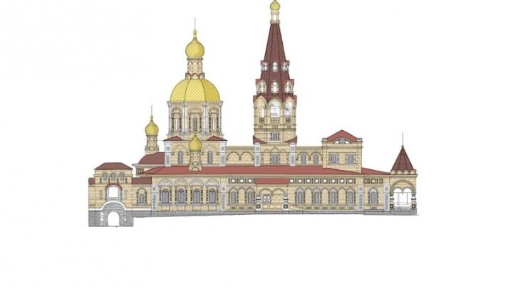 Станет более русской: рассматриваем здание, которое появится на месте снесённой Успенской церкви