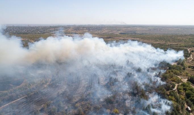 В Волгоградской области начали готовиться к ландшафтным пожарам