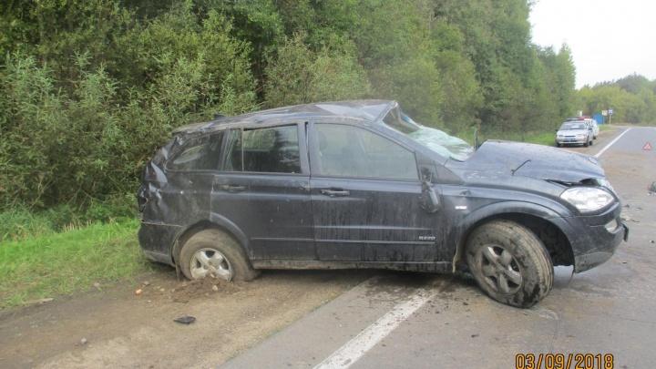 На скорости перевернулся несколько раз: водитель разогнался так, что потерял над машиной контроль