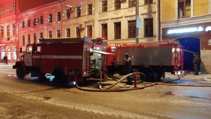 Четыре часа боролись с огнём: градозащитники заявили свою версию ночного пожара в центре Ярославля