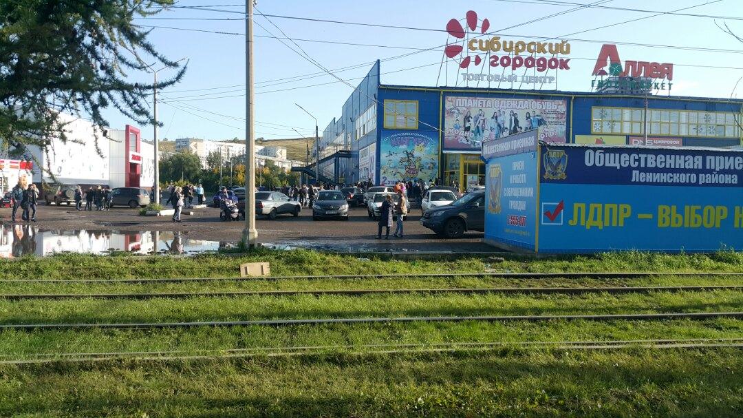 Эвакуация в микрорайоне «Черемушки»
