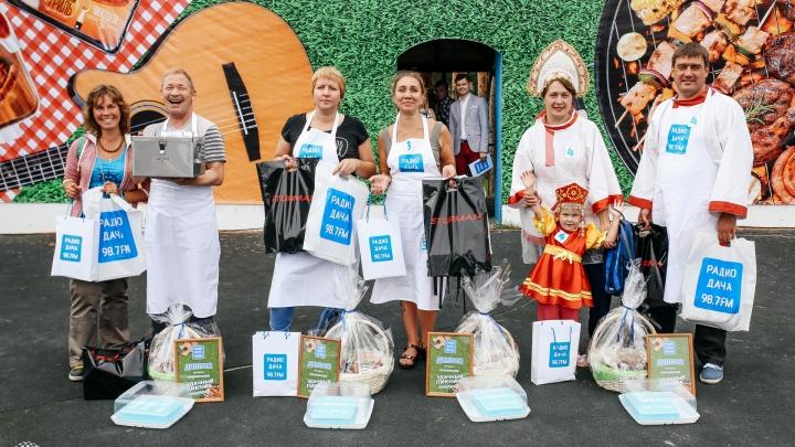 Финал проекта «Удачный пикник» на «Радио Дача» собрал более 2000 челябинцев