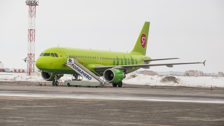 S7 разрешили летать из Новосибирска в грузинский город на берегу Чёрного моря