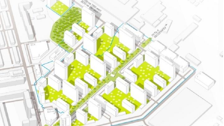 На месте завода ЖБИ построят высотки до 26 этажей, садики и больницу: подробности проекта