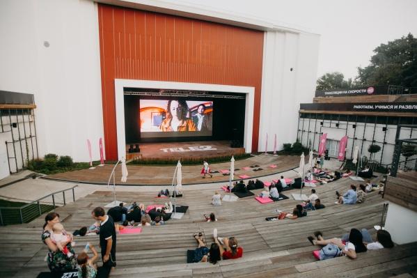 «Короткий метр» покажут на большом экране в «Онлайн-парке»