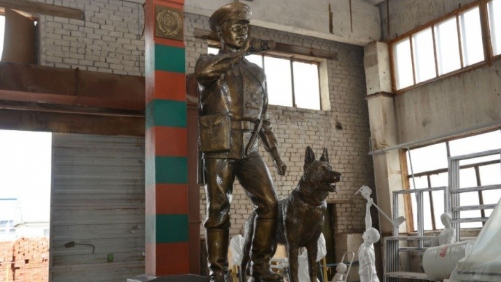 В Уфе появится памятник пограничникам