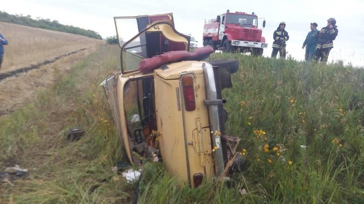 В Зауралье пьяные водители устроили две аварии. Пять человек пострадали