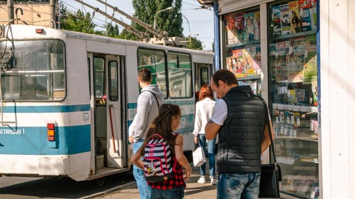 В Самаре хотят убрать кондукторов с еще одного троллейбусного маршрута