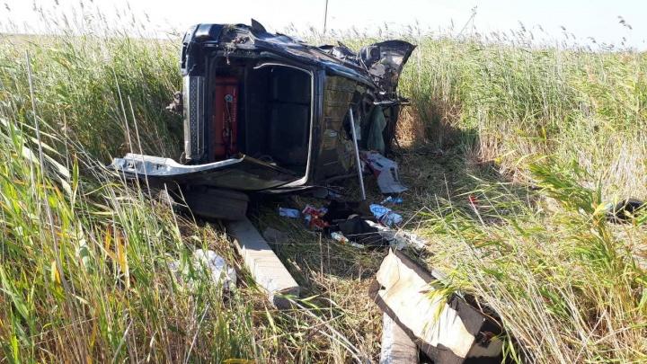 В Кетовском районе в аварии погибла 26-летняя женщина-пассажир