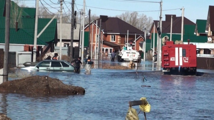 Под Уфой ушли под воду пять жилых домов и 90 дворов