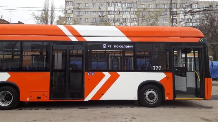 На новые троллейбусы для Ростова из бюджета выделят 271 миллион рублей