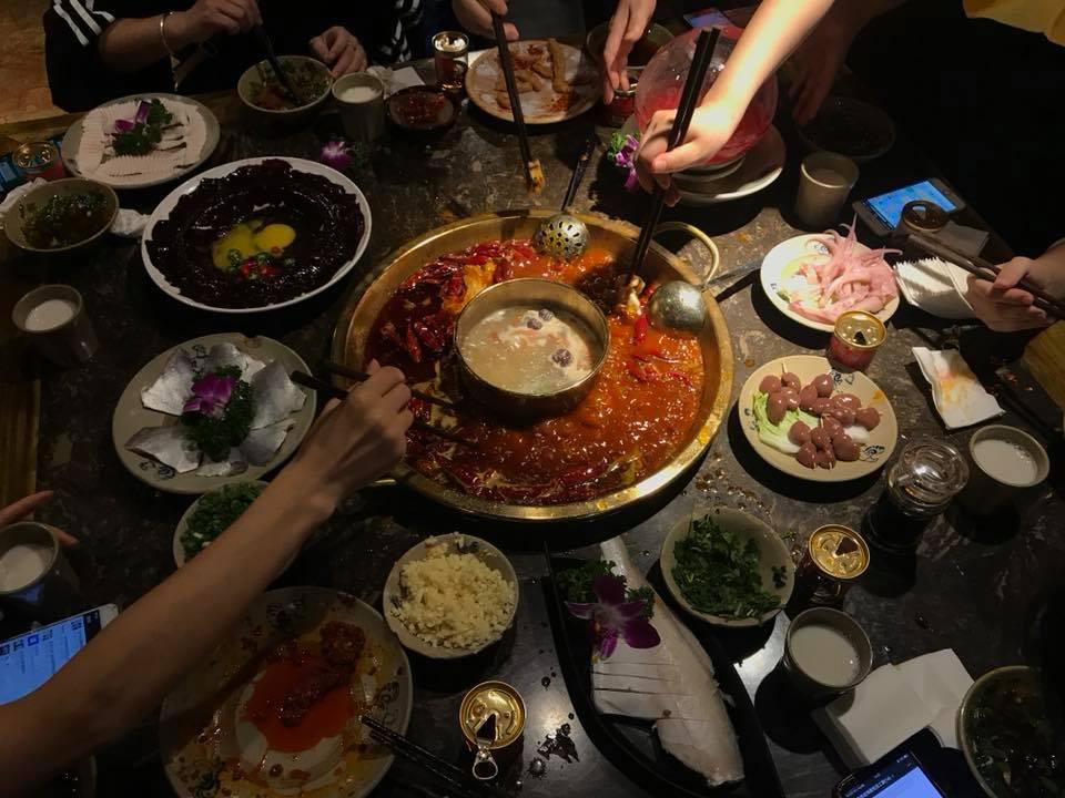 Китайское блюдо «Хот пот»