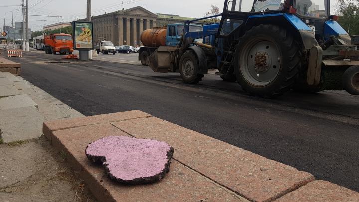 С любовью к Волгограду: коммунальщики починили пешеходные зоны возле Дома офицеров и Мамаева кургана