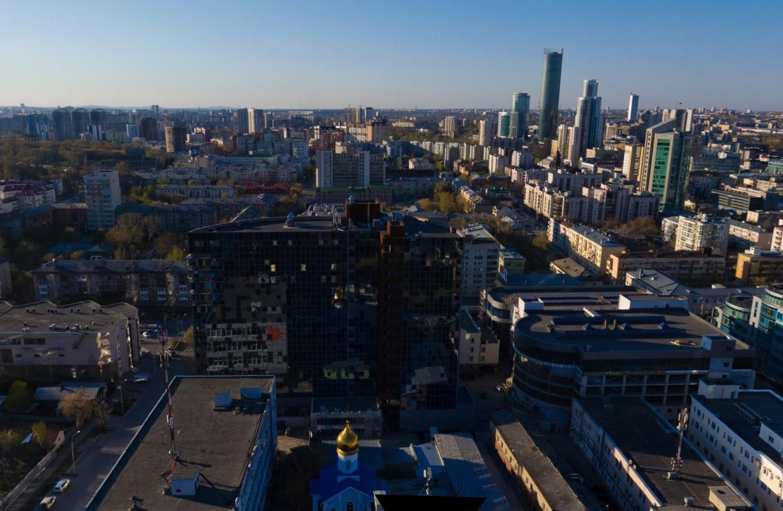 В центре Екатеринбурга продают почти 1000 квартир