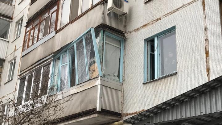 Вынесло рамы: в доме на проспекте Металлургов произошел хлопок