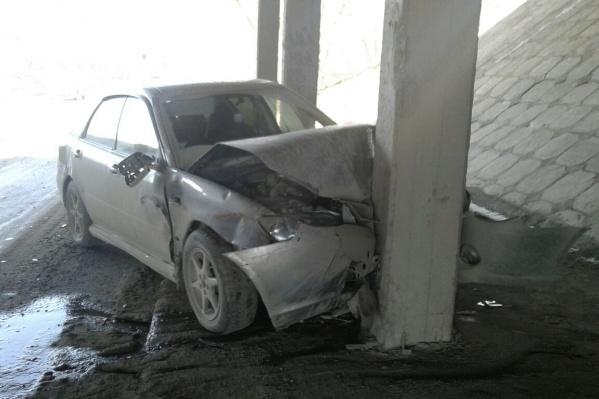 Авария случилась около 16:30