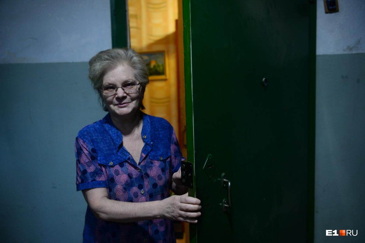 Вере Ивановне нравится жить в доме на Кренкеля, тут тихо, говорит она