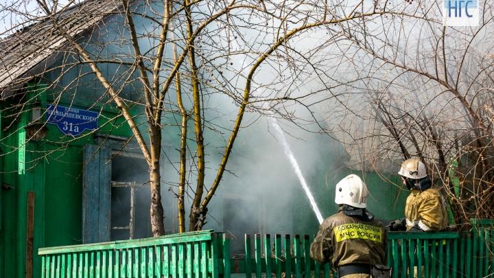 Мама с 5-летней дочкой сгорели в частном доме под Ачинском