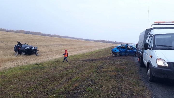 Промчался на скорости мимо наряда ДПС: на трассе Курган — Тюмень погиб 28-летний водитель