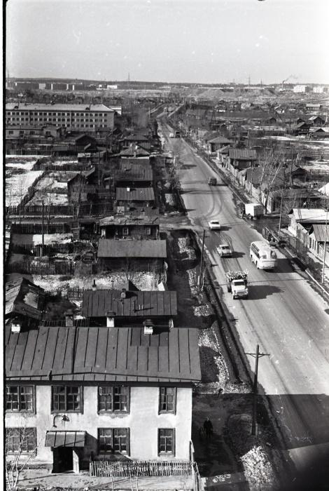 Панорама Бебеля в 1960-1970гг., ниже —еще несколько видов с этого места
