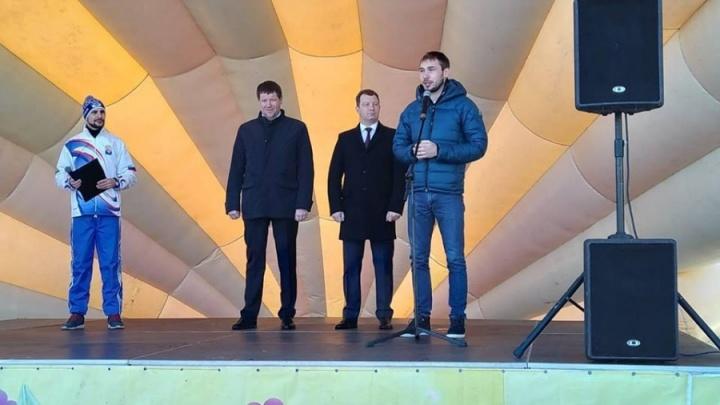 Тюменский биатлонист Антон Шипулин идет в Госдуму