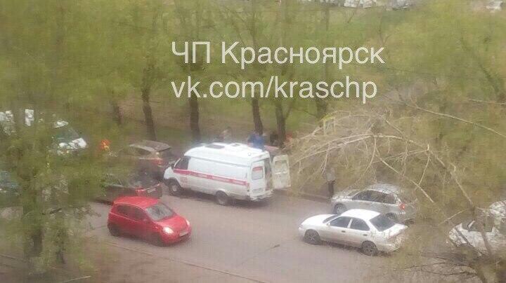 ВКрасноярске наулице Мичурина насмерть сбили пешехода