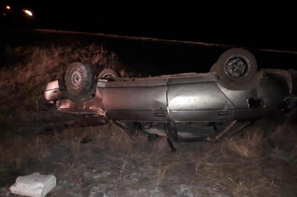 Причину аварии выясняют полицейские