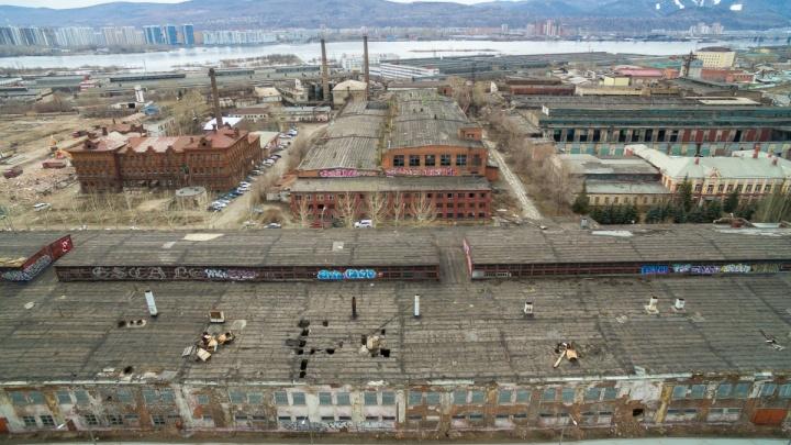 Красноярцы потребовали разбить парк на месте завода комбайнов и запретить тут стройку высоток