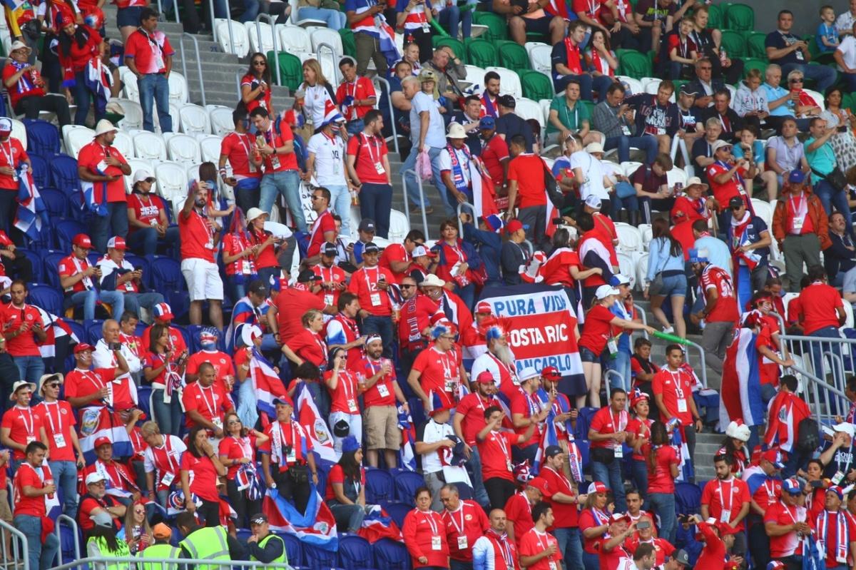 Пиковые показатели на трибунах зафиксировали во время матча с участием сборной России