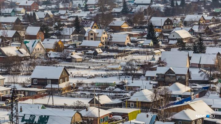 Новосибирские власти нашли место для 15 млн квадратов новостроек — список территорий