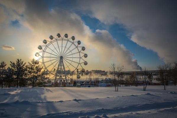 В выходные новосибирцев ждёт умеренно морозная погода