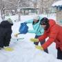 Пять лайфхаков от ледовара: строим крутую снежную горку своими руками