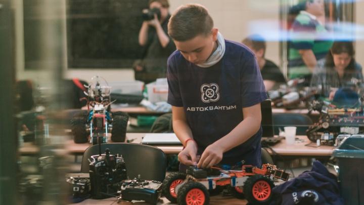 Детей, которые сами создают роботов, наградили поездкой в Сколково