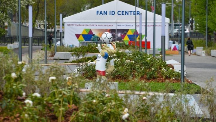 Временные сооружения в районе «Екатеринбург Арены» уберут до конца июля