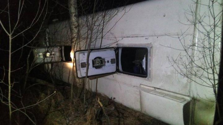 В МВД назвали возможную причину аварии: все подробности ДТП с автобусом в Балахнинском районе онлайн