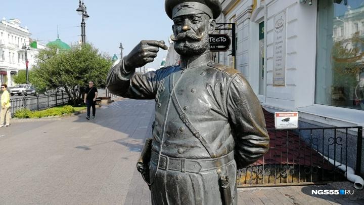 Омичи нашли в парке Победы отломанную часть сабли Городового