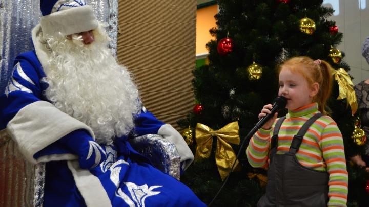 В первый день работы резиденцию Деда Мороза в Заозёрном посетили 170 детей