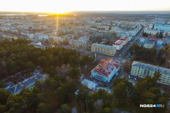 Стройка ведется в 6 км от Железногорска, филиал «Росатома» расположен также в этом городе