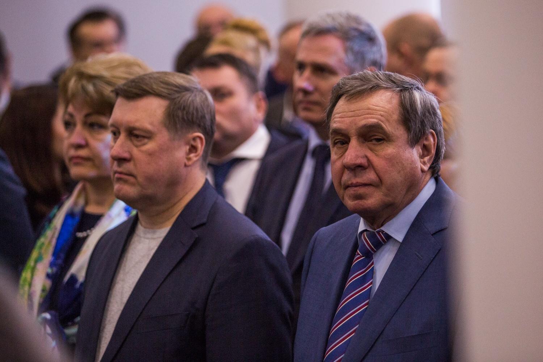 Анатолий Локоть и Владимир Городецкий тоже оказались приглашены на открытие мультимедийного музея