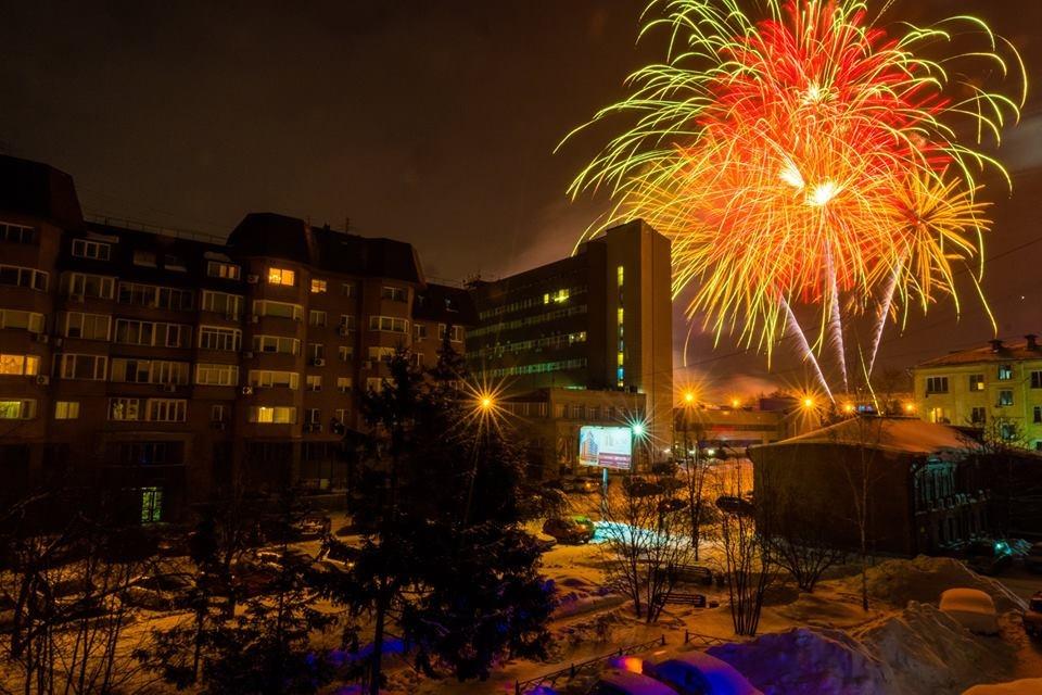 Новосибирцы присылали фото и видео того, как они праздновали Новый год