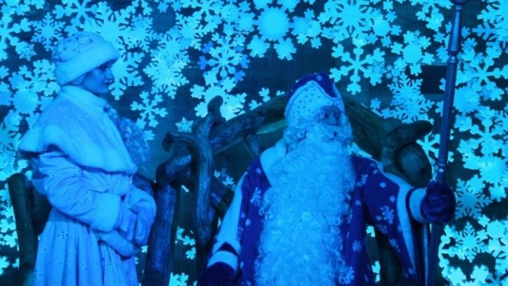 На строительство усадьбы Деда Мороза выделили 450 тысяч рублей
