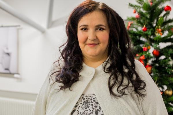 Алёна Грицюк похудела уже на 25 килограммов