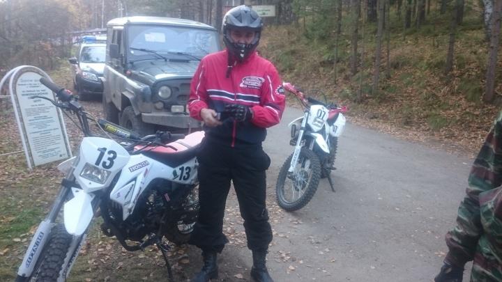 На«Столбах» задержали агрессивных мотоциклистов