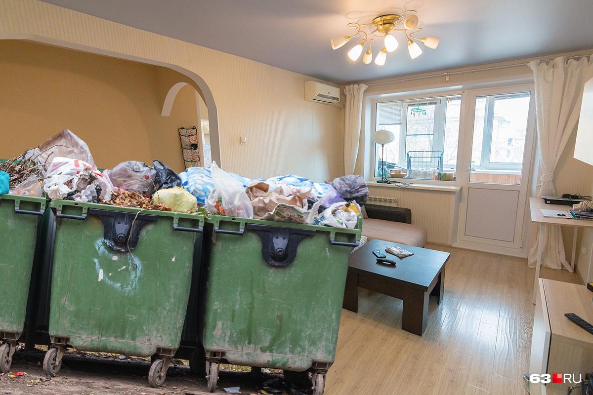 Квартиры, которые пустуют, тоже должны платить за отходы